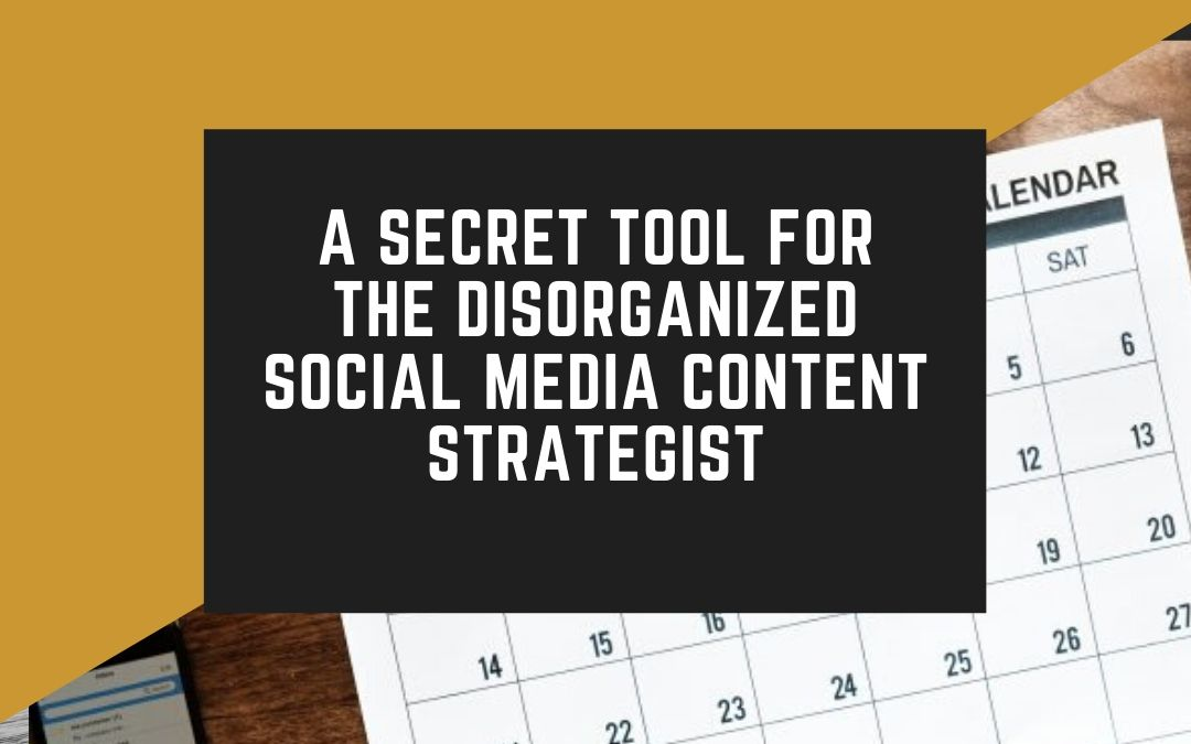 How a content calendar for social media saved us from losing clients!