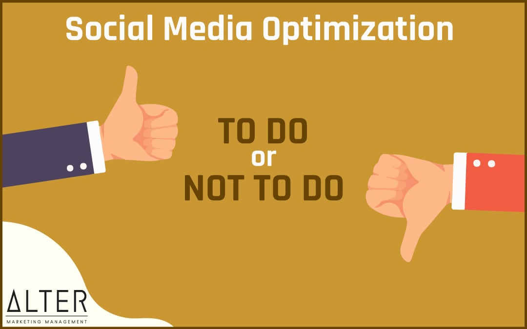 Social Media Optimization – to do or not do!