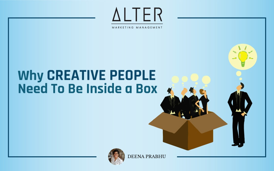 Why Creative People Need To Be Inside a Box