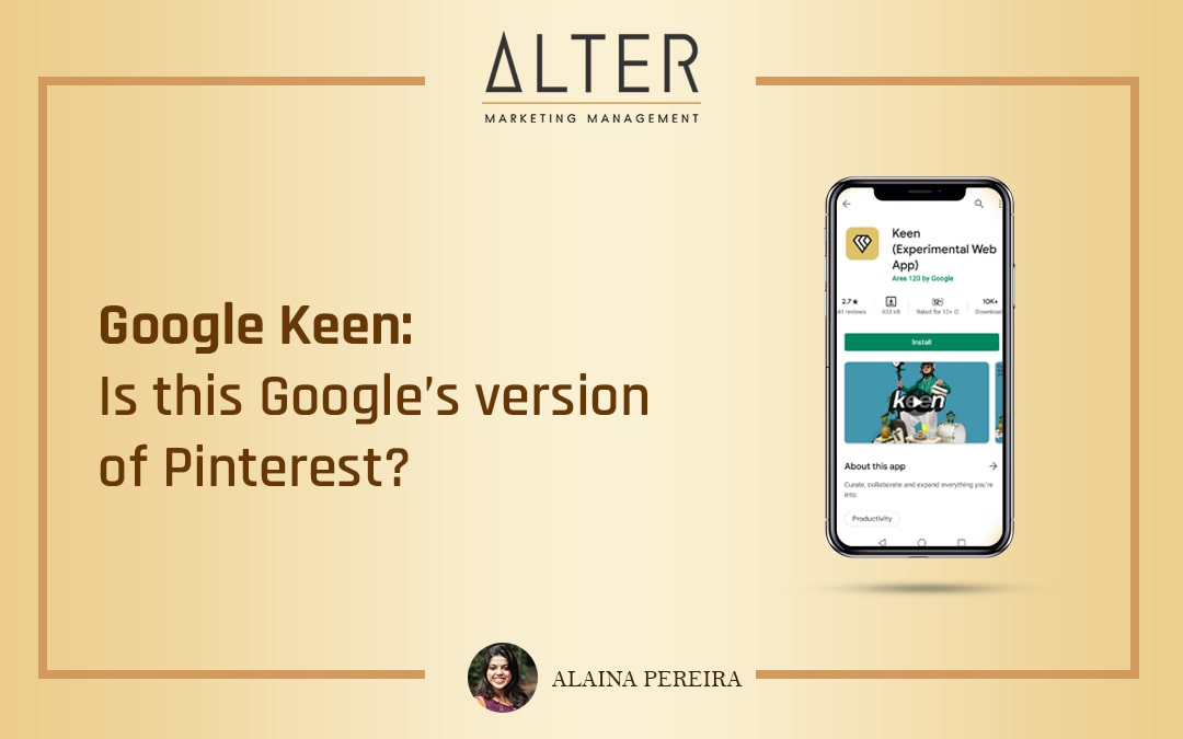 Google Keen: Is this Google's version of Pinterest?